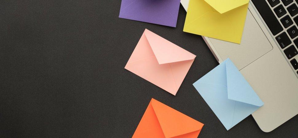 E-Mail Marketing - Magazine cover