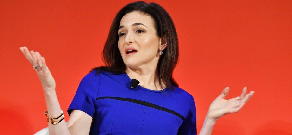 Sheryl Sandberg  presentation techniques