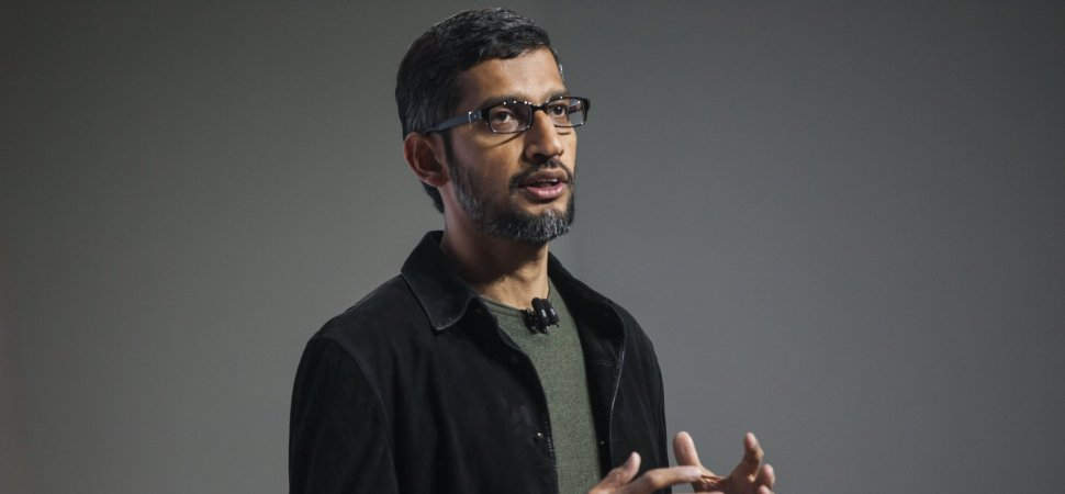 Bad News at Google. Here's How Sundar Pichai Explained It