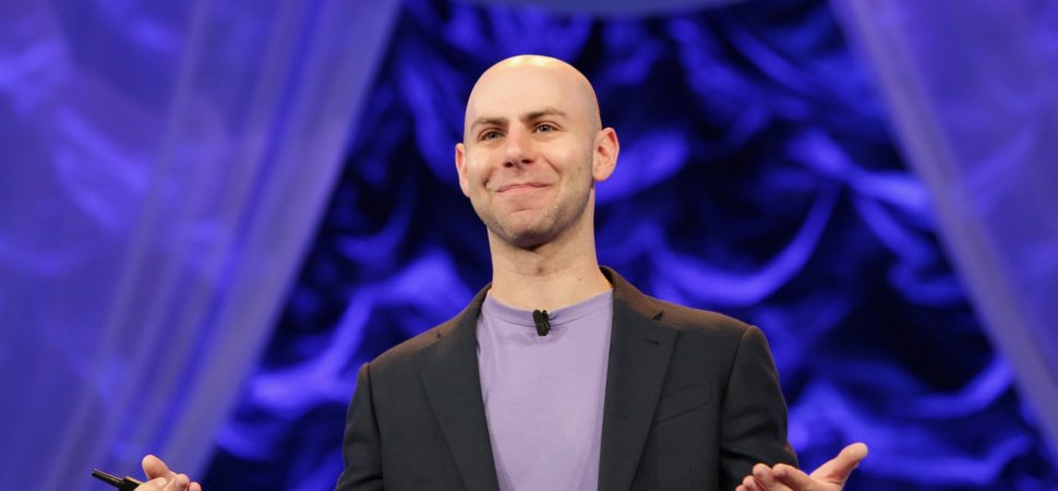 Prolific Wharton Professor Adam Grant Doesn't Do Time Management. Here's What You Should Do Instead