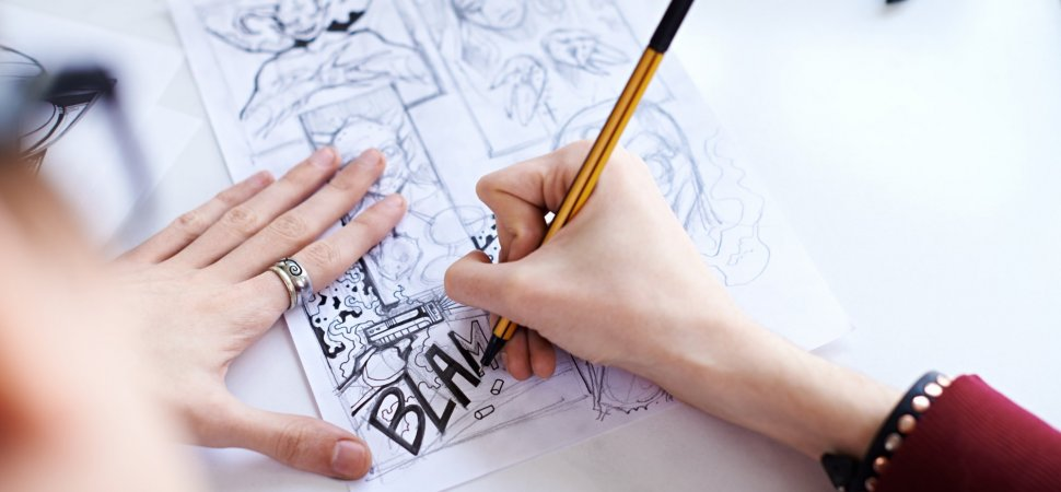 Want to Turn Your Comic Book Idea Into a Million-Dollar