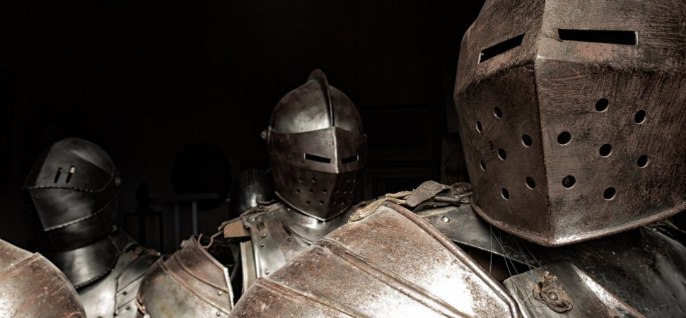 How This Marine Corps Veteran Turned a Passion for Medieval Combat