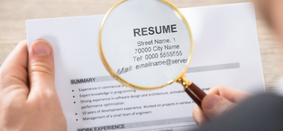 4 mistakes employers make when reviewing resumes