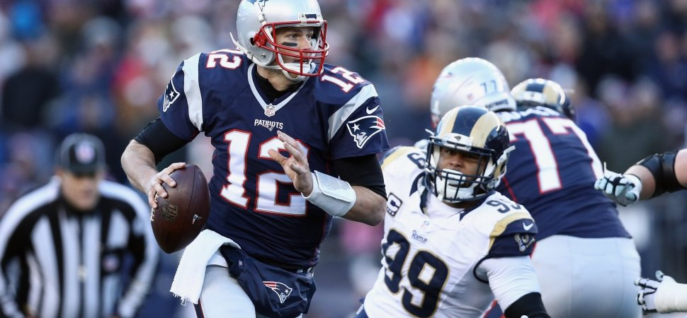 Tom Brady Screamed at His Receivers on the Sideline. Then, He Showed Why He's a Brilliant Leader