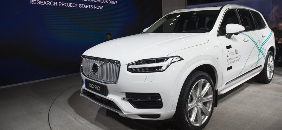 Uber Is Buying Thousands of Self-Driving Cars From Volvo | Inc.com