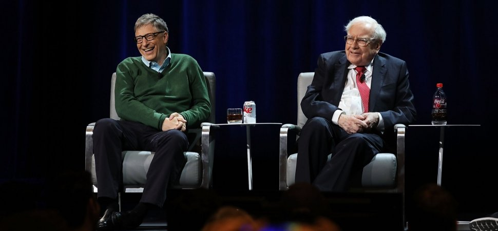bill gates s and warren buffett s top advice for college students