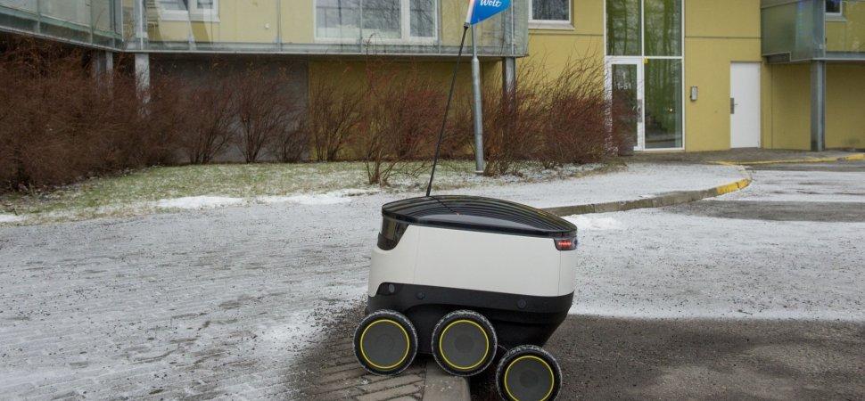 Robot Delivery Company Influencing Laws That Favor Its Autonomous
