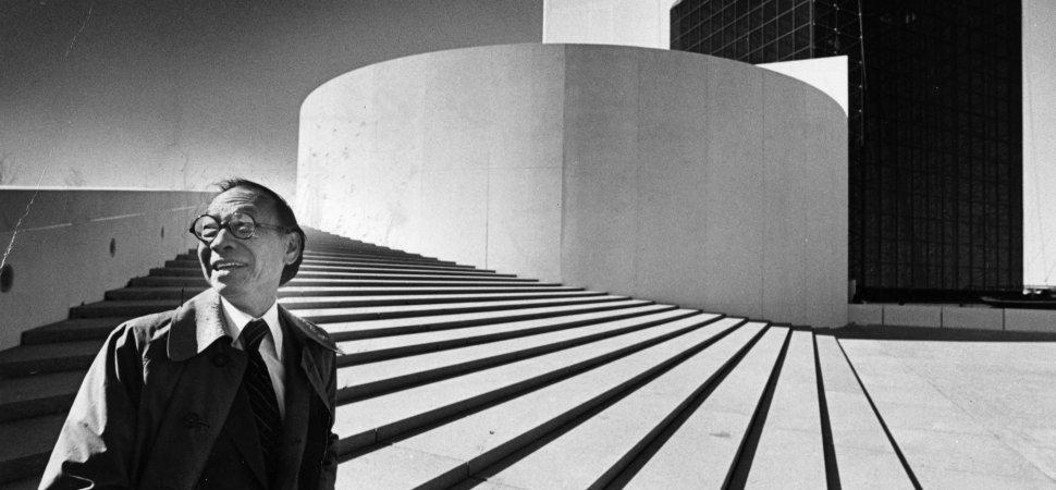 3 Essential Design Lessons from Legendary Architect I.M. Pei