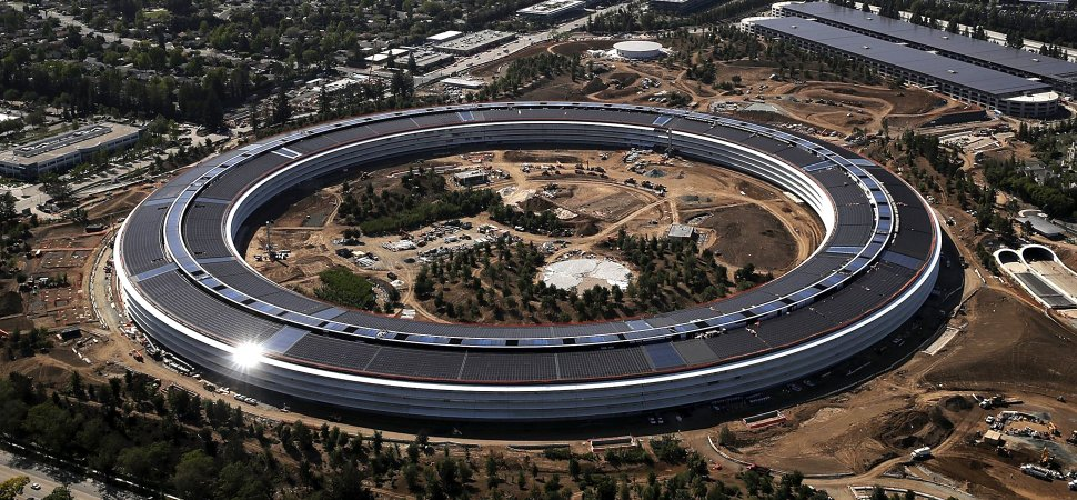Apple Is Powered Entirely by Renewable Energy (Sort Of