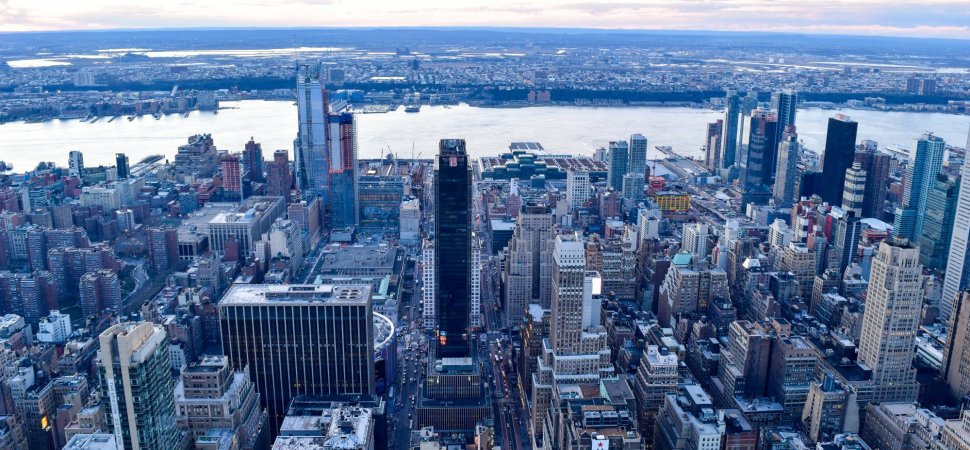 Why hudson yards is the future of new york city for How far is hudson ny from nyc
