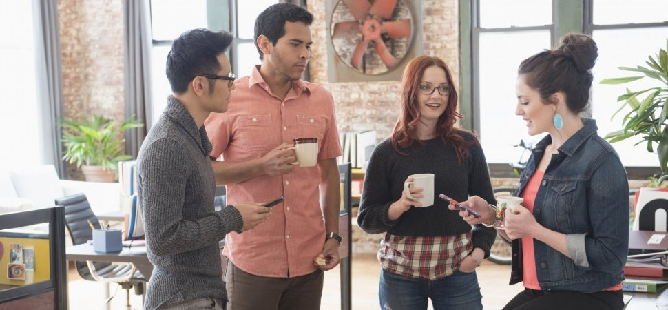 The Surprising Reason Why Drinking Coffee Can Help You Like Your Co-Workers More