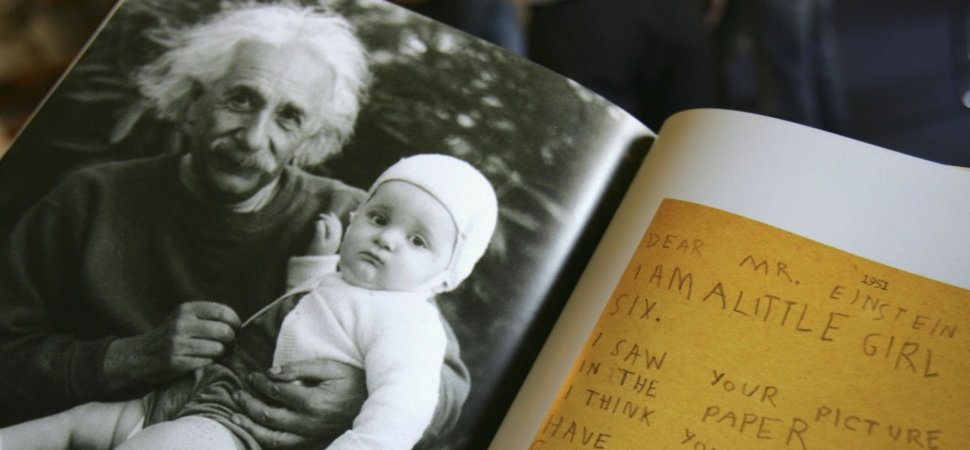Here's Einstein's Advice to His Son on How to Accelerate Learning