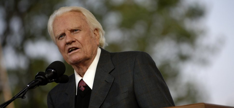 Heres A Lesson You Can Learn From The Life Of Billy Graham