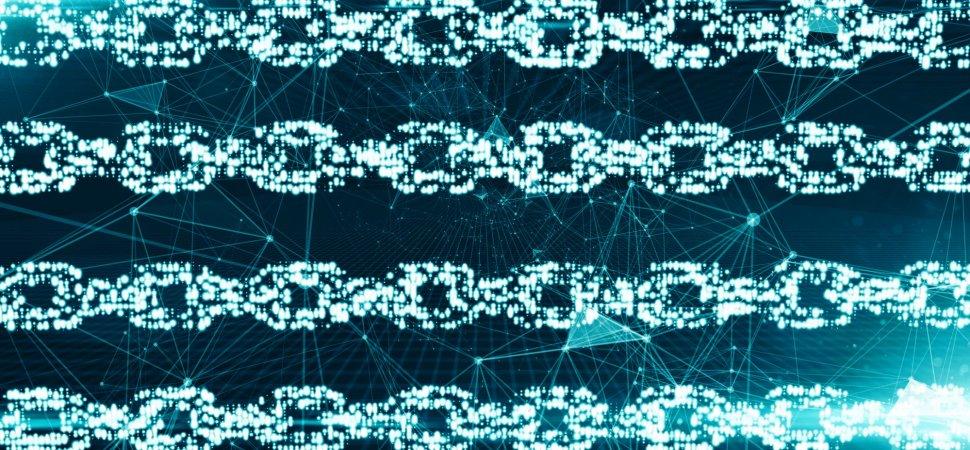 Blockchain Technology - Magazine cover