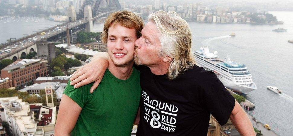 Want to Raise Successful Kids? Richard Branson Says Let Them Fail