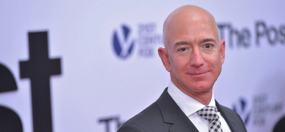 how did jeff bezos make his money in college