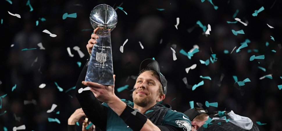 hot sale online bab1c 44238 Super Bowl MVP Nick Foles's Post-Game Interview Is a ...