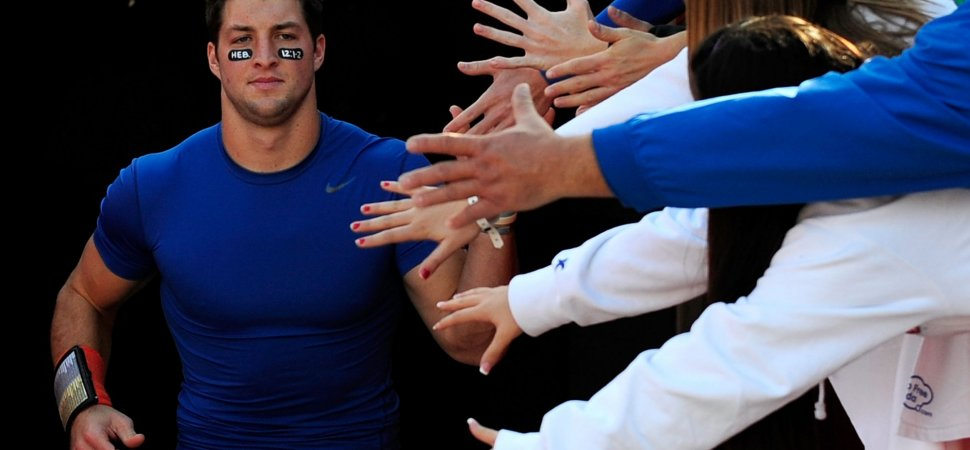 Tim Tebow Has Many Haters. He Just Shared How He Handles Them In 2 Brilliant Sentences | Inc.com