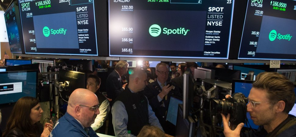 What spotifys ipo means for tech startups in 2018 inc malvernweather Choice Image