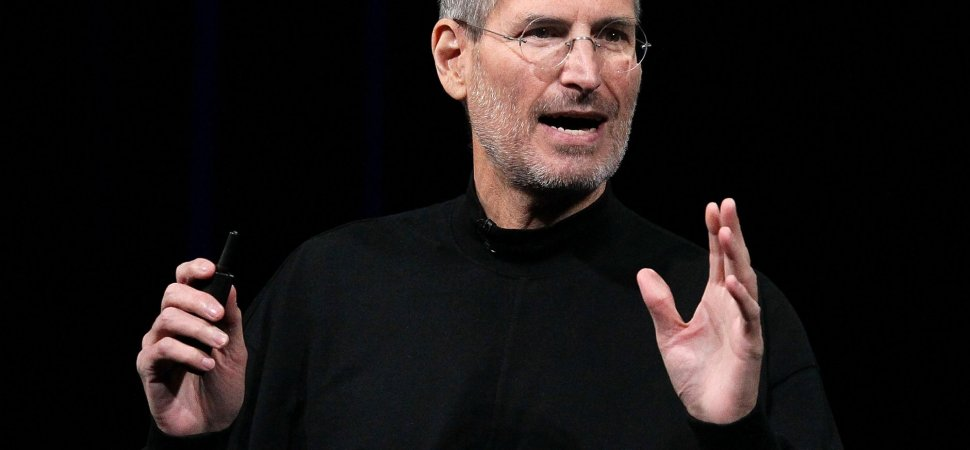Steve Jobs Did This 1 Weird Thing Consistently When Coming Up With a Big Idea | Inc.com
