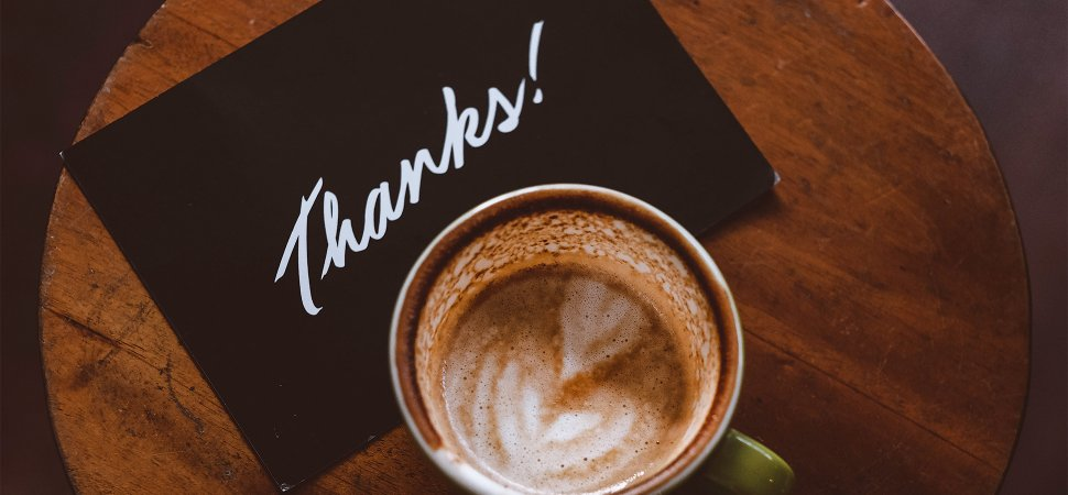 How To Write A Sincere Thank You Note That Will Make People Smile