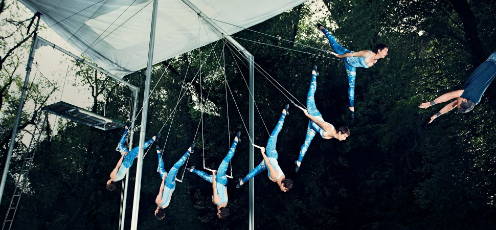 To Calm Her Nerves This Founder Takes To The Trapeze