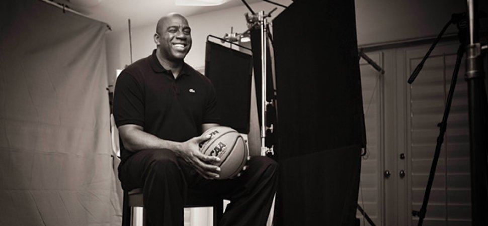Image result for Magic Johnson Takes Credit for the New Harlem