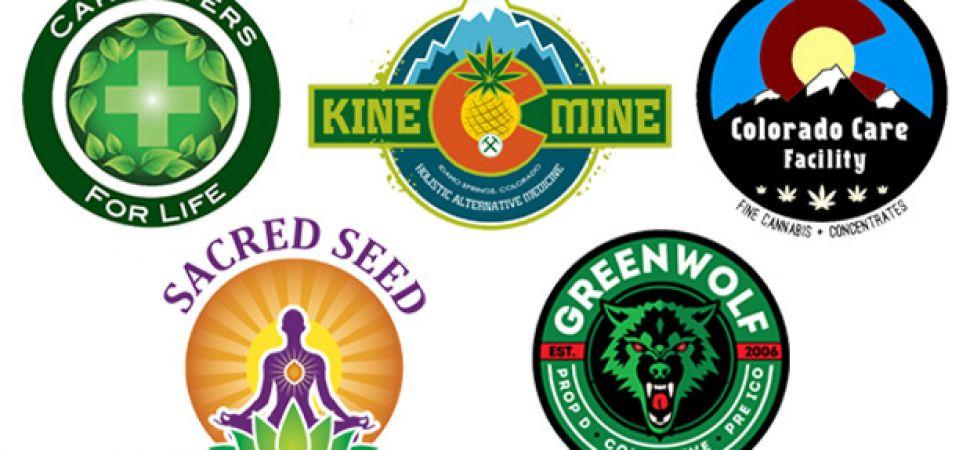 9 great legal marijuana company logos. Black Bedroom Furniture Sets. Home Design Ideas
