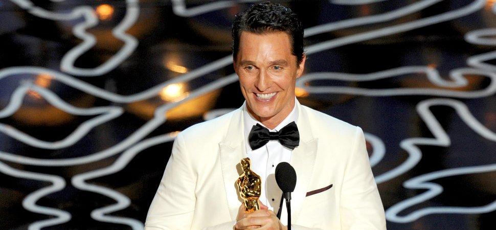 Resultado de imagen para Matthew McConaughey oscars