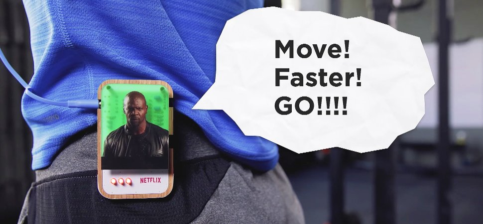 With Netflix's Personal Trainer, the Streaming Stops If You Don't Work Out