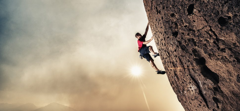 Image result for rock climbing  Can build confidence.