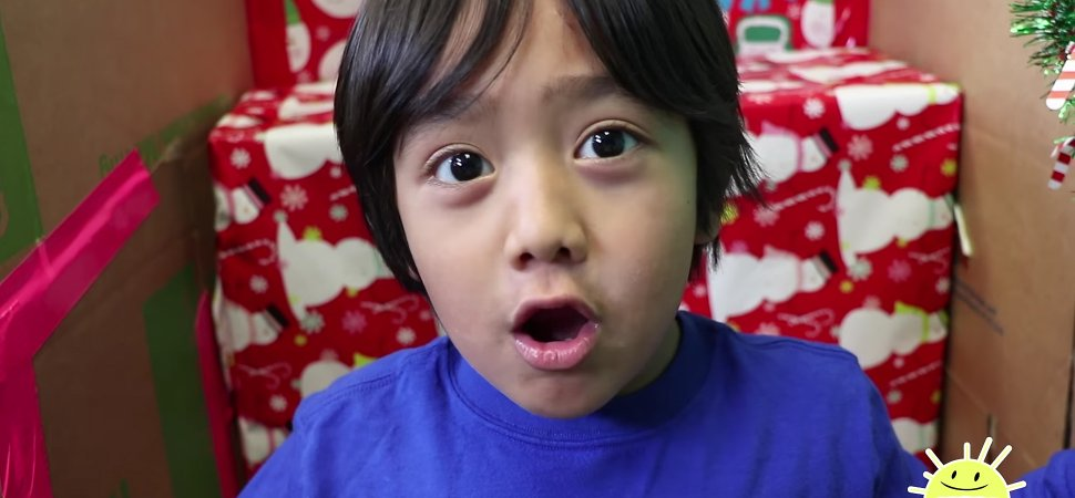 10320f5e88b6 This 6-Year-Old Makes  11 Million a Year on YouTube. Here s What His  Parents Figured Out
