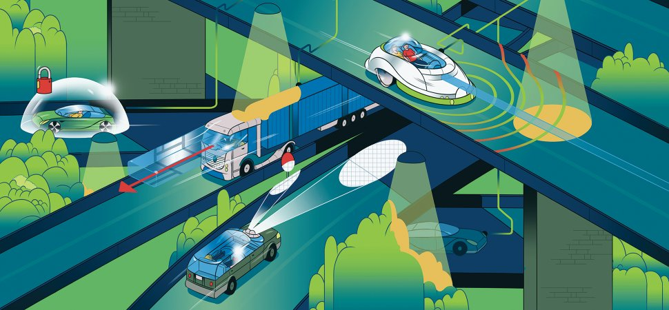 Hands Off: Driverless Vehicles Are on the Horizon image