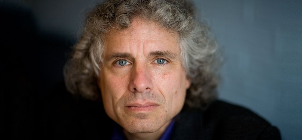 Author and psychologist Steven Pinker.