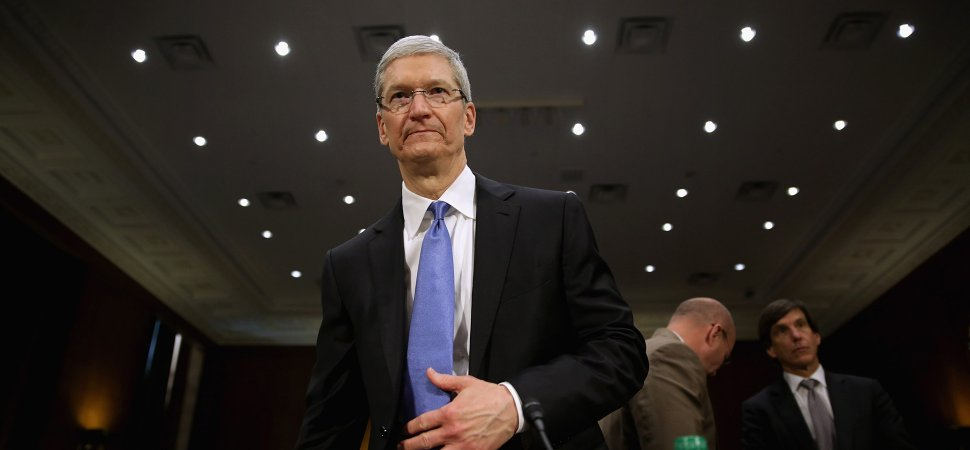 Apple CEO Tim Cook Calls Hate a 'Cancer 'and Takes a Stand Against Trump