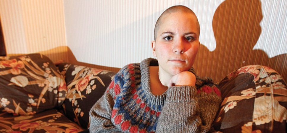 Fired for shaved head for cancer