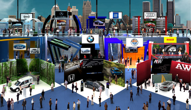 In September 2010, ON24, a virtual events provider based in San Francisco, helped AutoWeek magazine host a virtual green car show—an industry first.