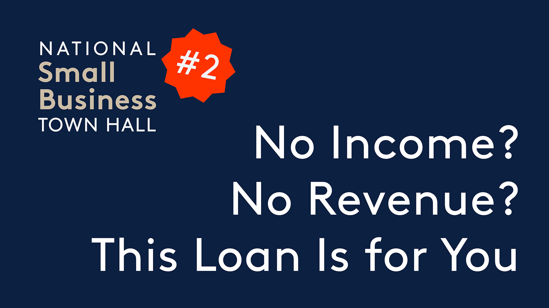 No Income? No Revenue? The EIDL Loan Is Made for You
