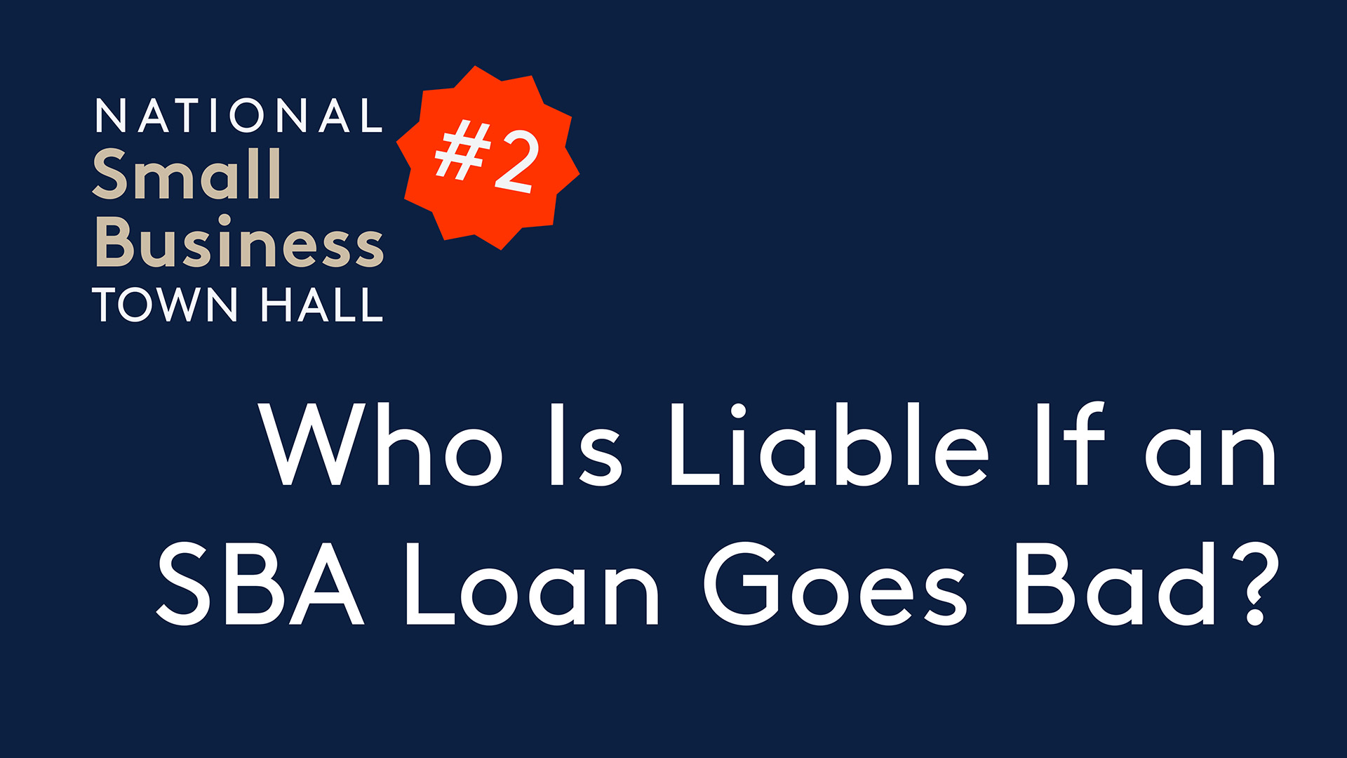 Who Is Liable If a SBA Loan Goes Bad? The Bank or the Business Owner