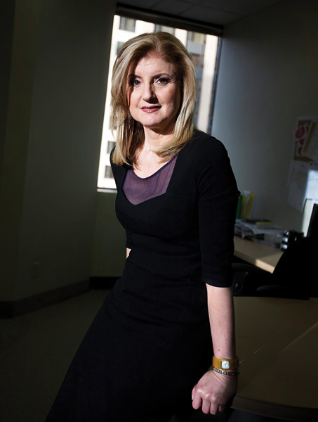 <strong>Blogger in Chief</strong> Arianna Huffington launched her New York City -- based news and opinion website just as what she calls &quot;the national conversation&quot; was moving online.