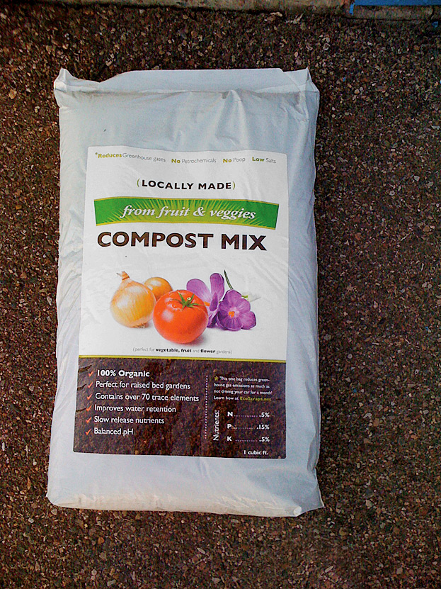 <b>The Good Stuff</b> EcoScraps compost sells in grocery stores in the western United States. Next stop: Walmart.