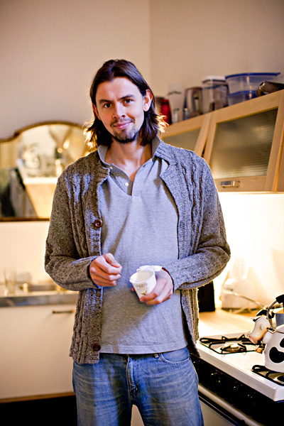 "Siggi Hilmarsson cooked up his first batch of skyr in his Tribeca kitchen in 2004. ""The first batches were pretty awful,"" he says."