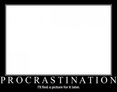 how to procrastinate like a professional speech