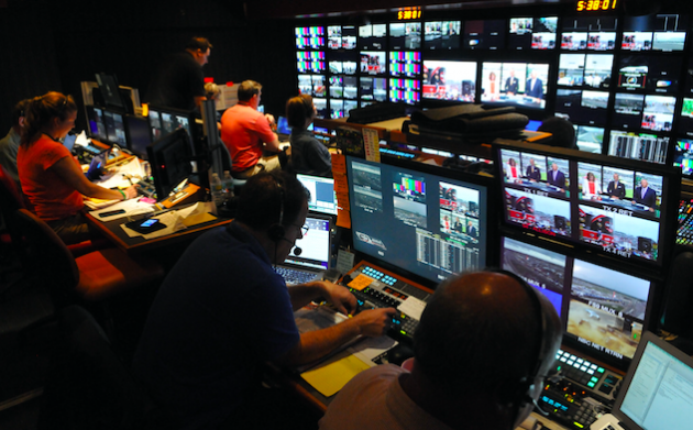 Behind the Scenes of an NBC Sports NASCAR Race Broadcast