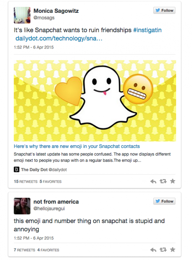 Heres What You Need To Know About Snapchats New Emoji Update Inc