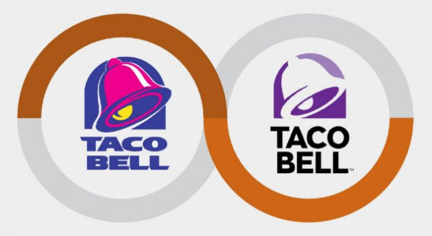 Taco Bell Logo rebranding? do what instagram, uber, and taco bell did with their
