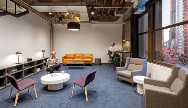 new office interior design. A Lounge In Unity\u0027s San Francisco Office.CREDIT: Jasper Sanidad New Office Interior Design