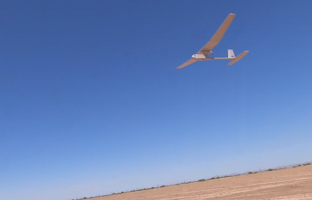 A Thunderbolt drone. inline image