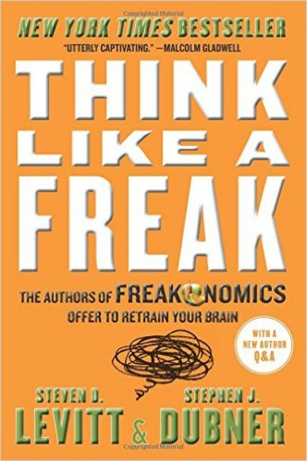 7 books that will train your brain to overachieve inc 3 think like a freak fandeluxe Ebook collections