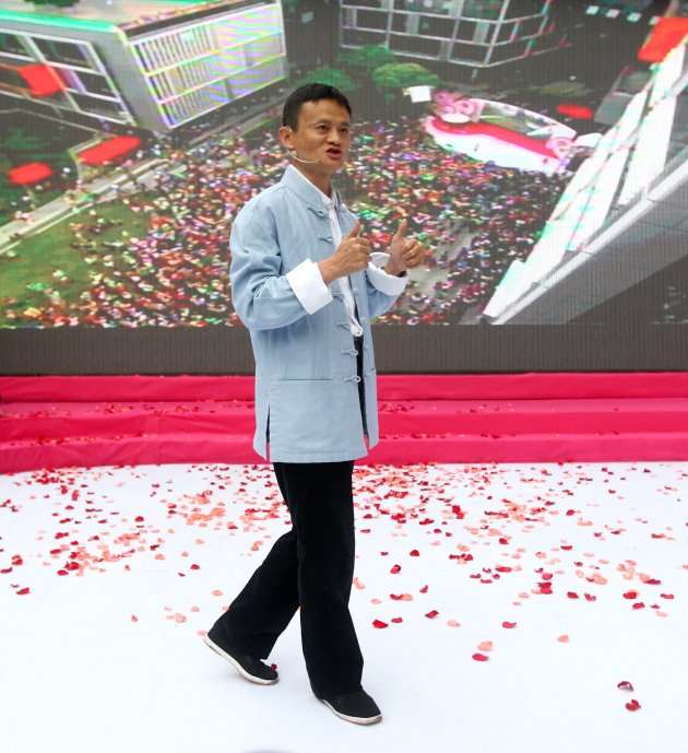 How Alibaba Founder Jack Ma Turned His Retirement Party into